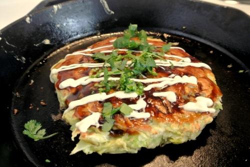 kansai seafood okonomiyaki